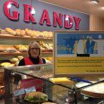 Projektbriefkasten in der Bäckerei Grandy, Elchingen